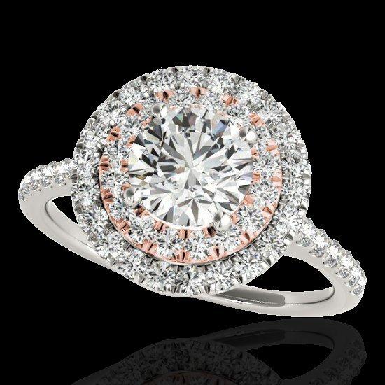 Genuine 1.50 CTW Certified G-I Genuine Diamond