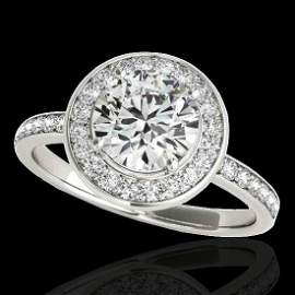 Genuine 1.50 CTW Certified G-I Genuine Diamond Bridal