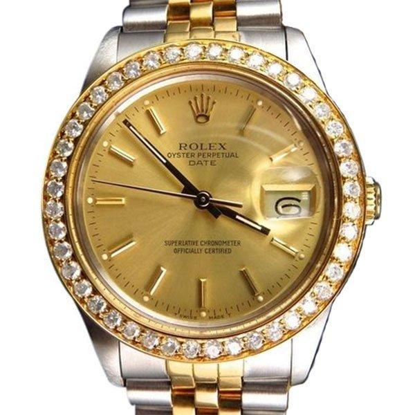Pre-owned Excellent Condition Authentic Rolex Quickset