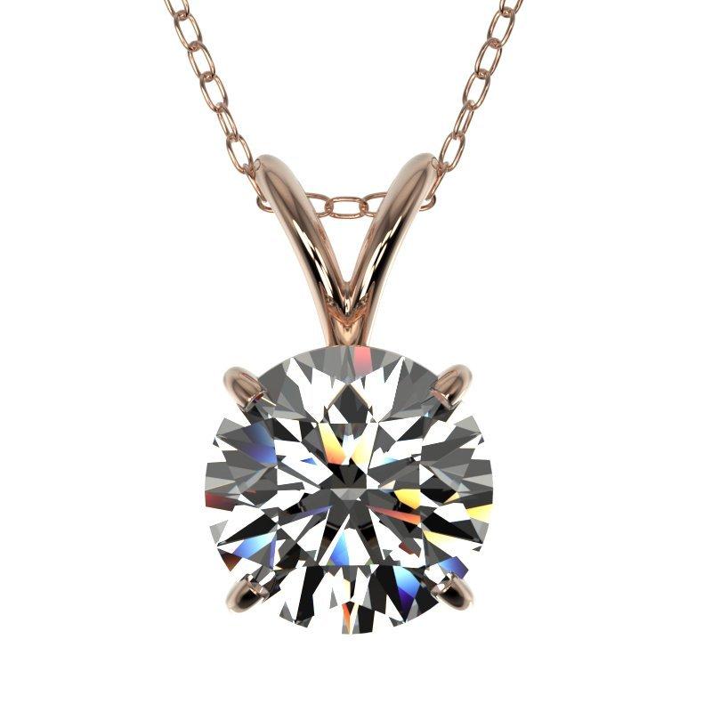 Genuine 1.25 CTW Certified H-I Quality Genuine Diamond