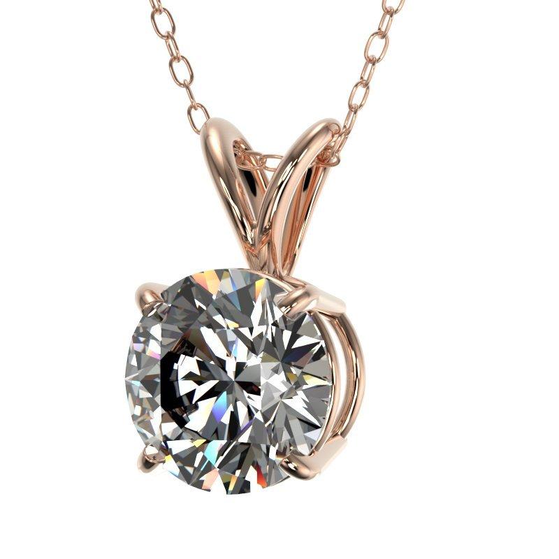 Genuine 1.25 CTW Certified H-I Quality Genuine Diamond - 2