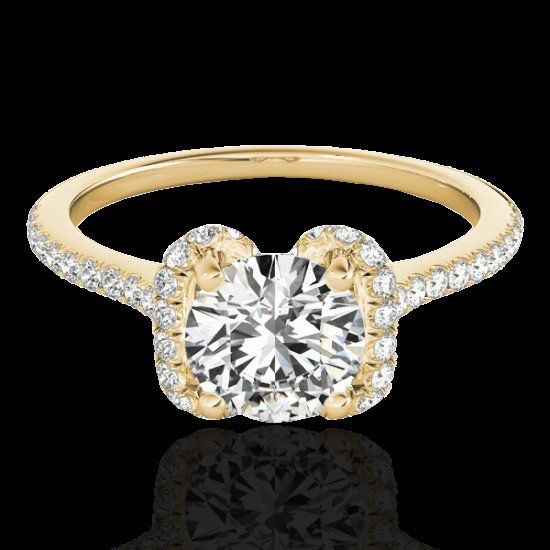 Genuine 1.33 CTW Certified G-I Genuine Diamond Bridal