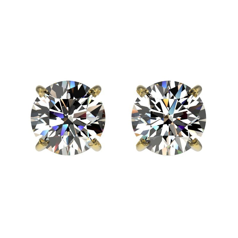 Genuine 1.09 CTW Certified H-I Quality Genuine Diamond