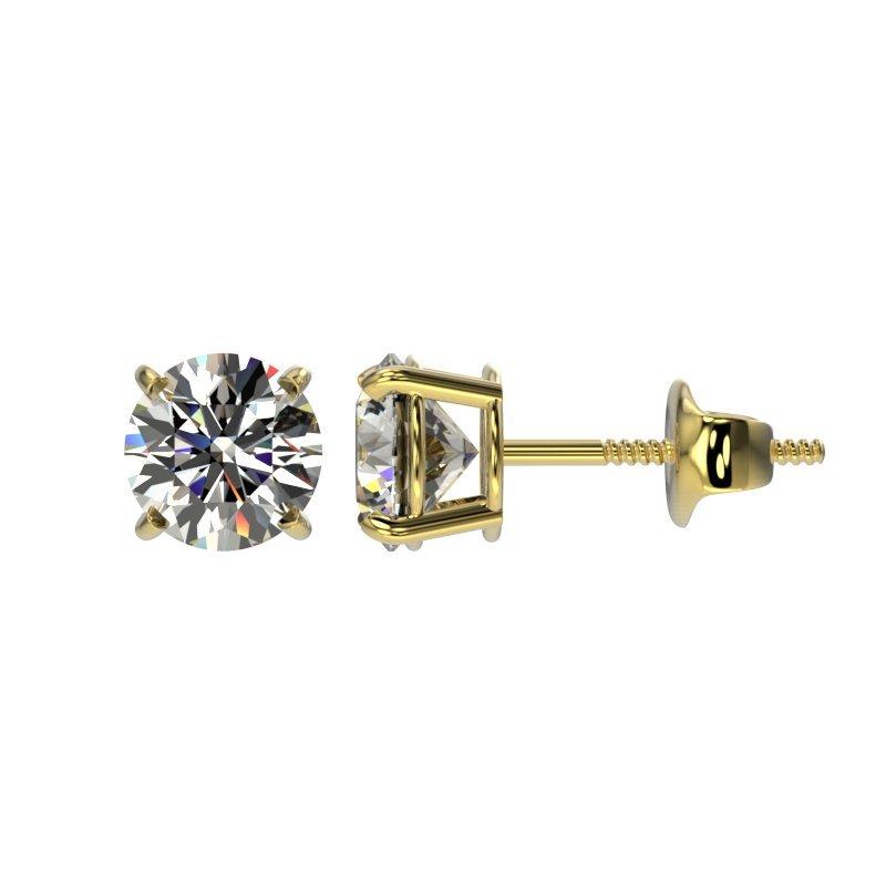 Genuine 1.09 CTW Certified H-I Quality Genuine Diamond - 2