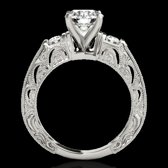 Genuine 1.38 CTW Certified G-I Genuine Diamond - 2