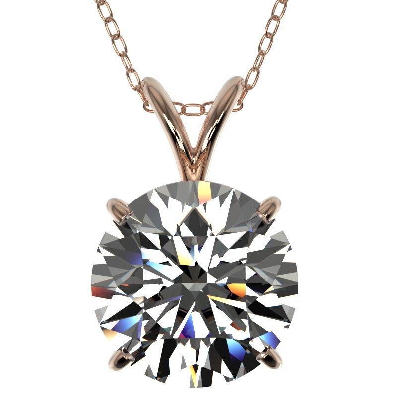 Genuine 2.50 CTW Certified H-I Quality Genuine Diamond