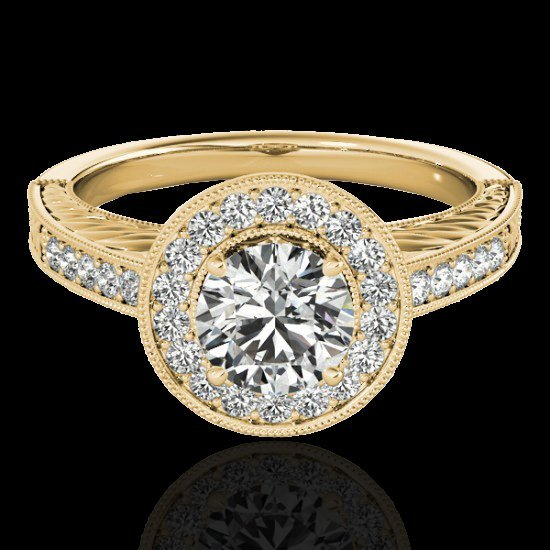 Genuine 1.50 CTW Certified G-I Genuine Diamond Bridal