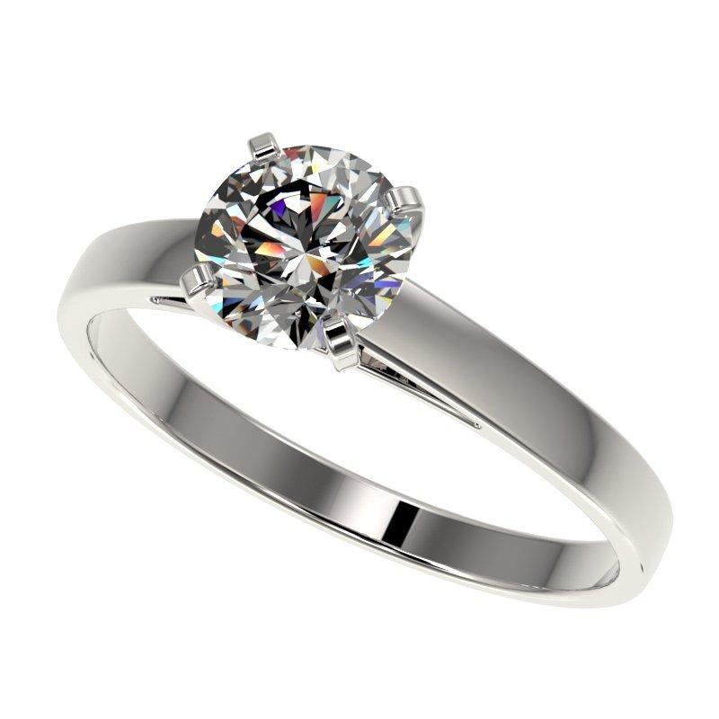 Genuine 1.0 CTW Certified H-I Quality Genuine Diamond