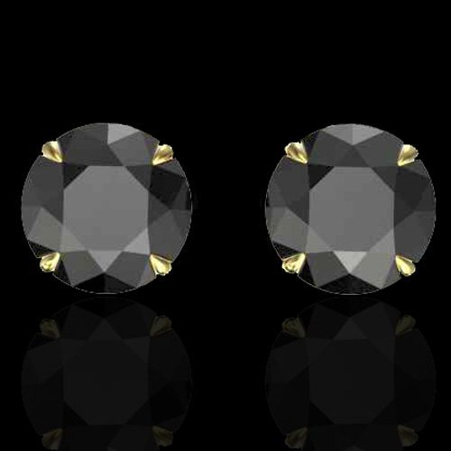 Natural 4.0 CTW Black Diamond Designer Inspired