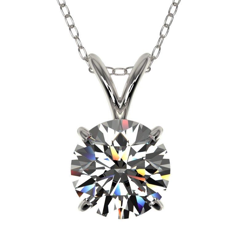 Genuine 1.29 CTW Certified H-I Quality Genuine Diamond