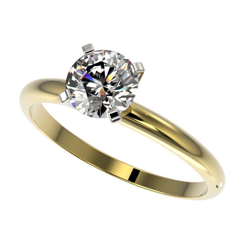 Genuine 1.03 CTW Certified H-I Quality Genuine Diamond
