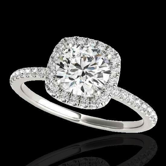 Genuine 1.25 CTW Certified G-I Genuine Diamond Bridal