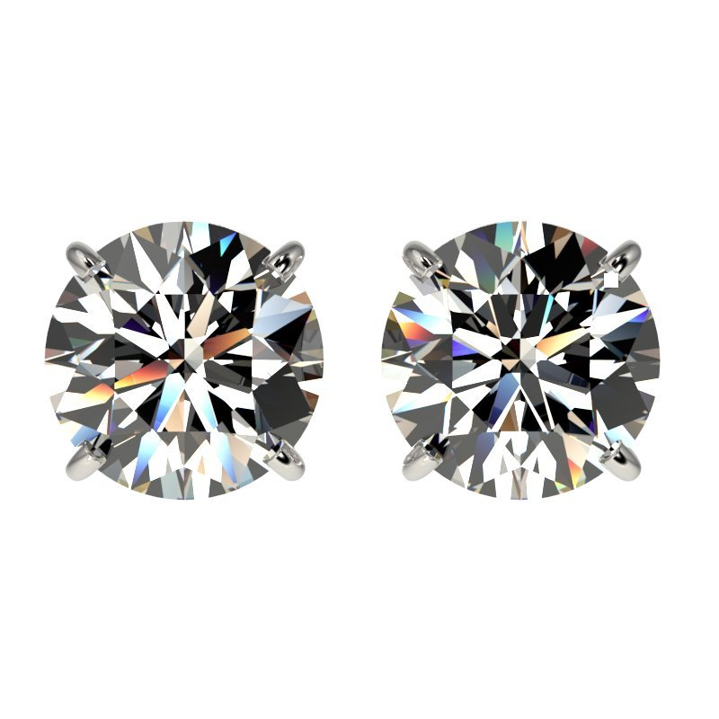 Genuine 1.91 CTW Certified H-I Quality Genuine Diamond