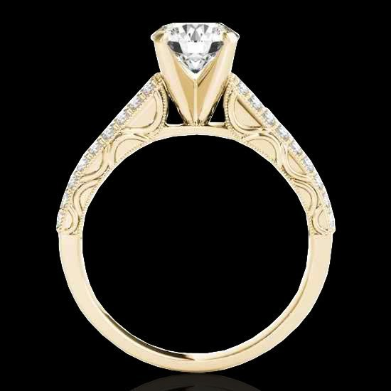 1.91 CTW Certified G-I Diamond Solitaire Bridal Ring - 2