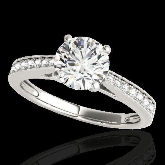 Genuine 1.25 CTW Certified G-I Genuine Diamond