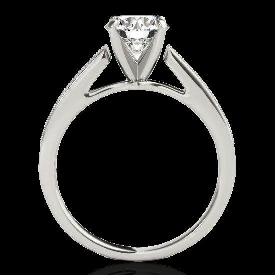 Genuine 1.25 CTW Certified G-I Genuine Diamond - 2