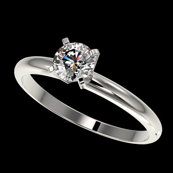 .54 CTW Quality Diamond Solitaire Engagment Ring Gold