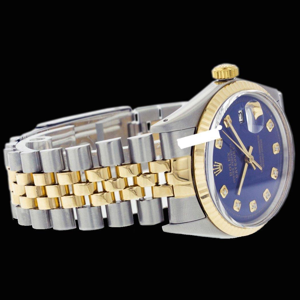 Rolex Ladies 2Tone 14K Gold/ Stainless Steel, Diamond - 2