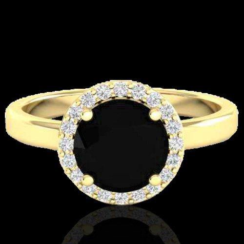 2 CTW Halo VS/SI Diamond Certified Micro Pave Ring