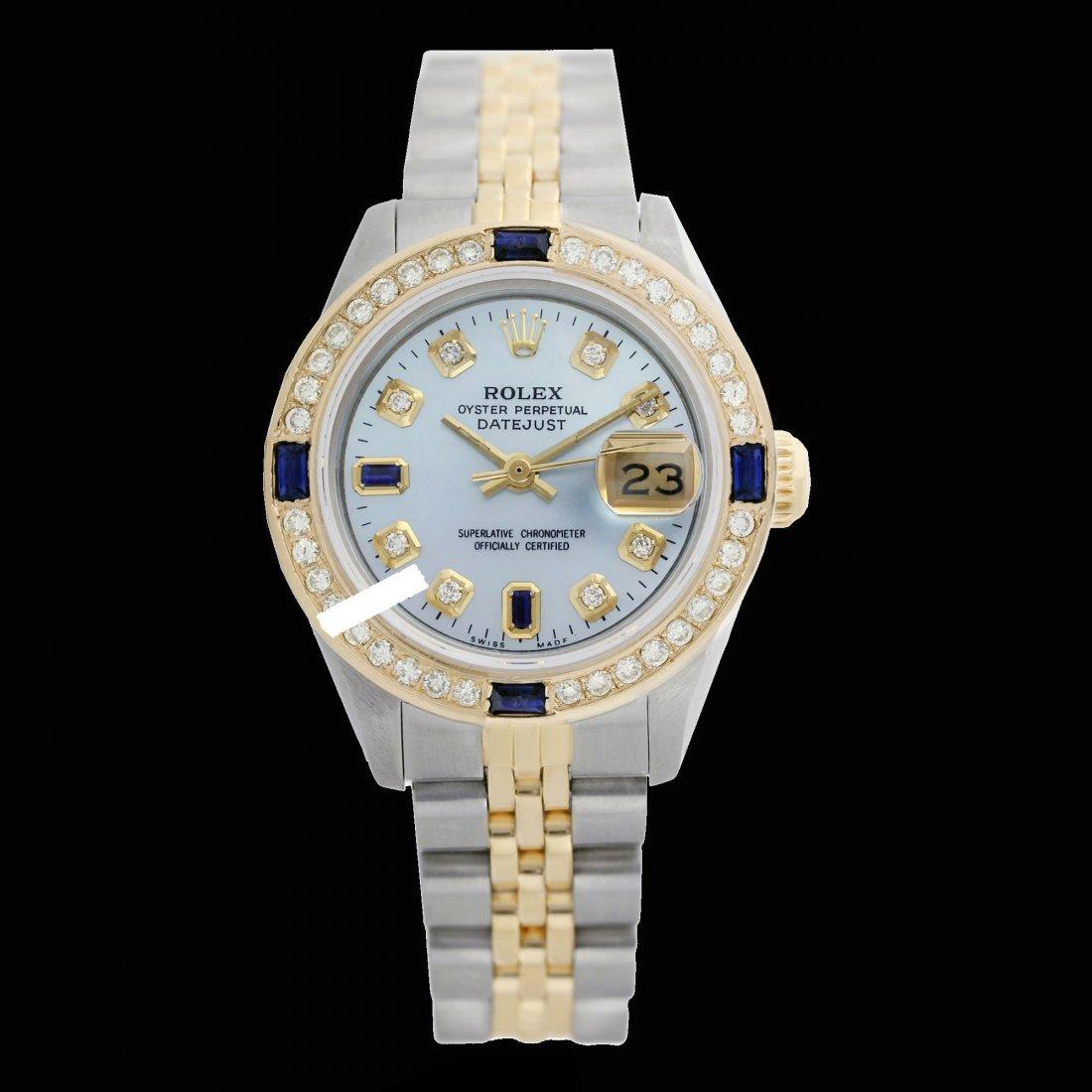 Rolex Ladies 2Tone 14K Gold/ Stainless Steel,