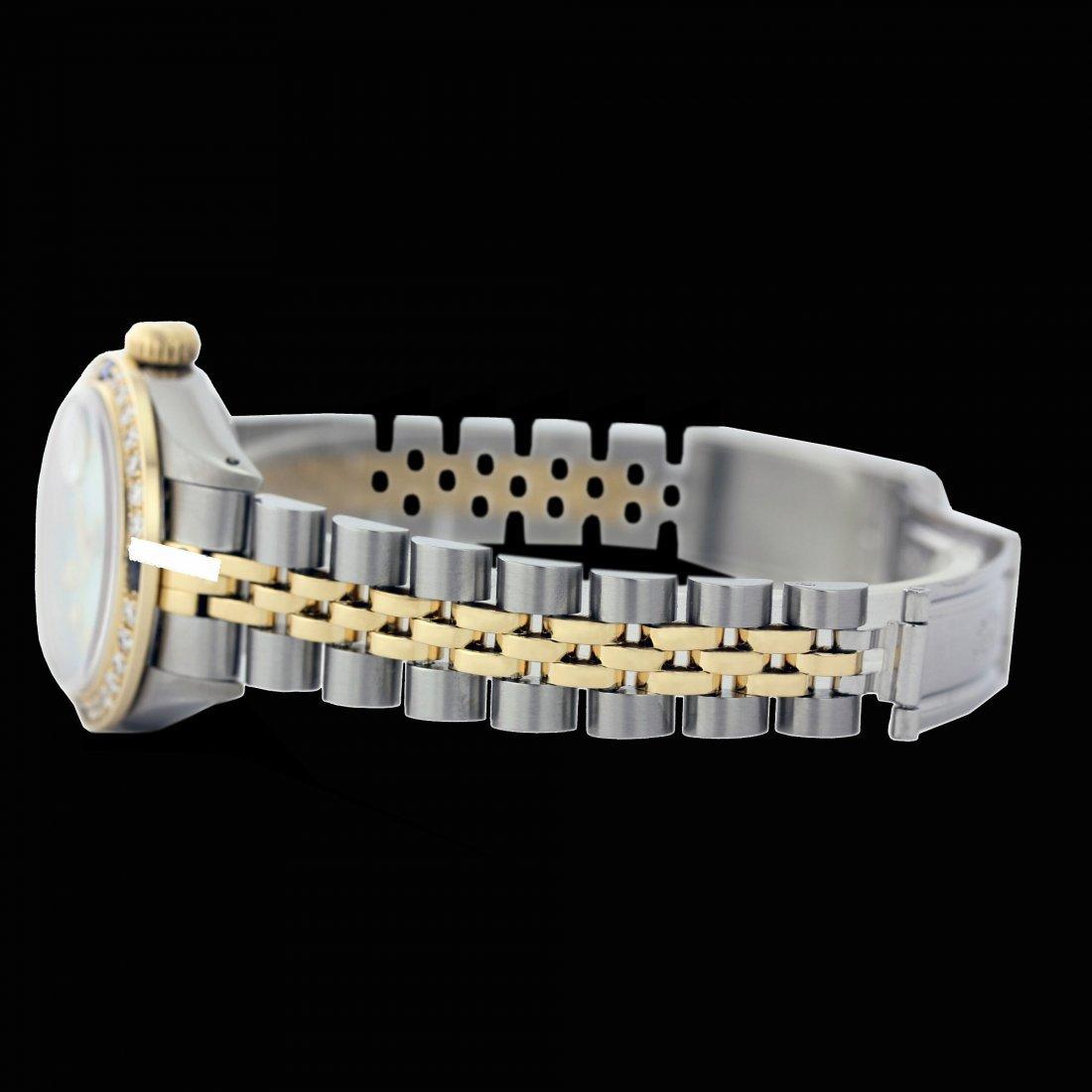 Rolex Ladies 2Tone 14K Gold/ Stainless Steel, - 2