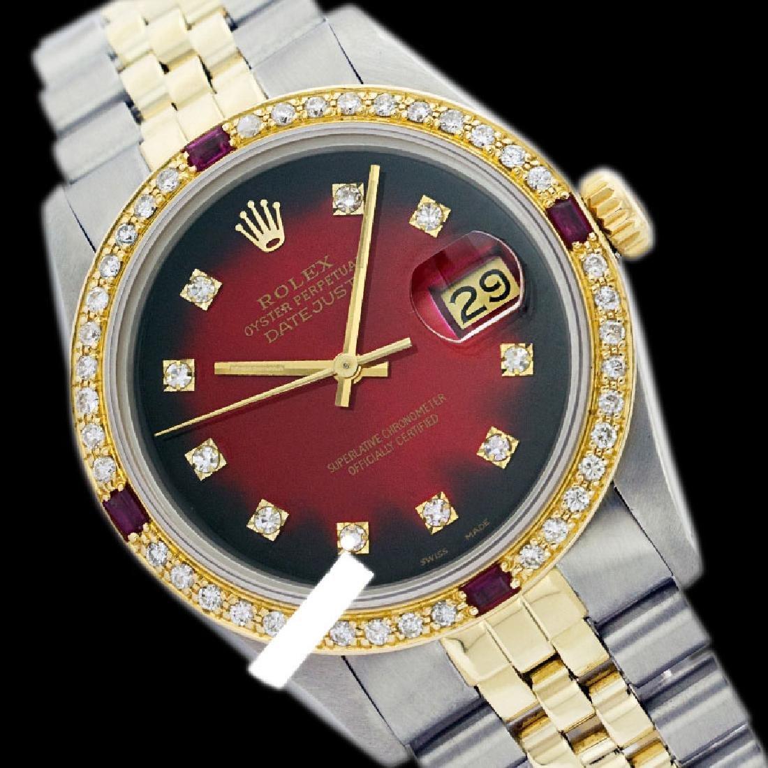Rolex Ladies 2Tone 14K Gold/ Stainless Steel, Diam Dial