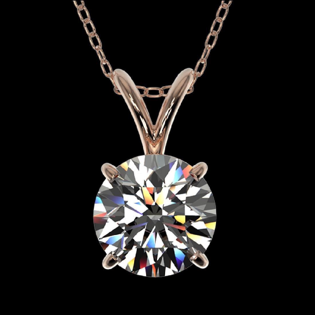 1.04 CTW Certified G-Si Quality Diamond Bridal