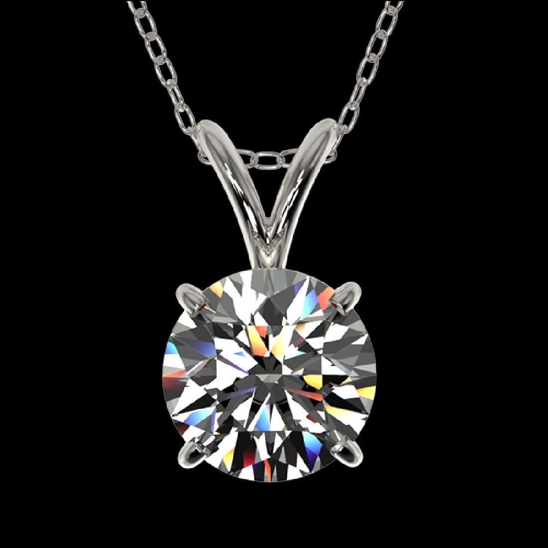 1.05 CTW Certified G-Si Quality Diamond Bridal