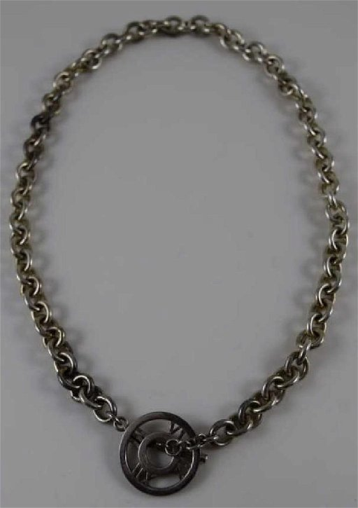 958454b02 TIFFANY & CO ATLAS STERLING SILVER TOGGLE NECKLACE - May 07, 2017 ...