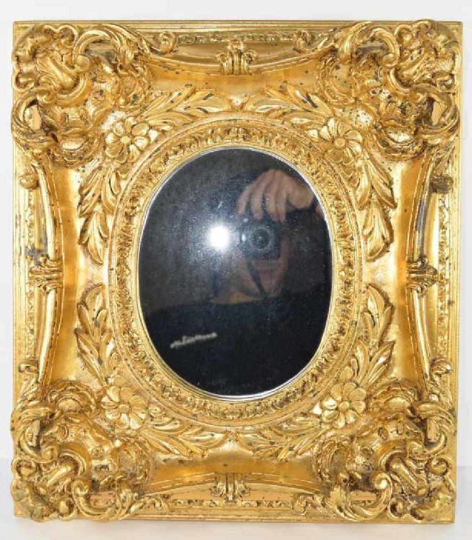 GOLD GILT BAROQUE STYLE MIRROR FRAMED