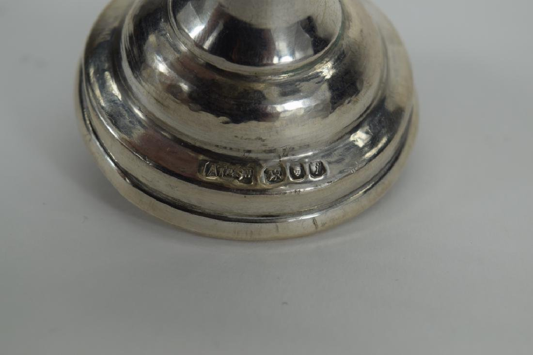 ENGLISH 925 STERLING SILVER JUDAICA SPICE TOWER 2 - 8