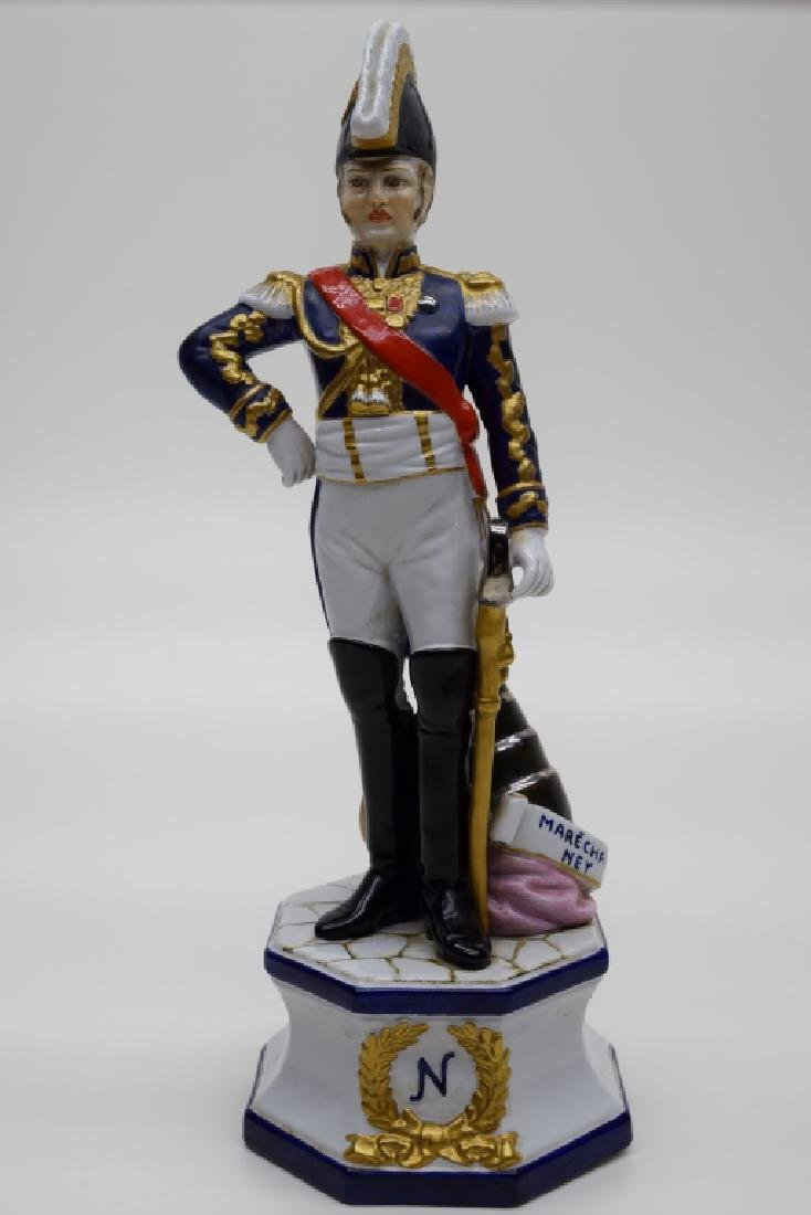 CONTINENTAL PORCELAIN SOLDIER MARSHAL NEY