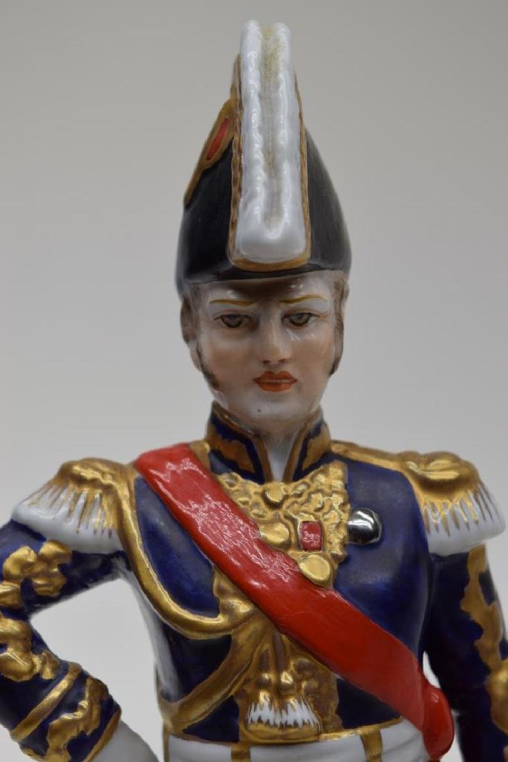 CONTINENTAL PORCELAIN SOLDIER MARSHAL NEY - 2