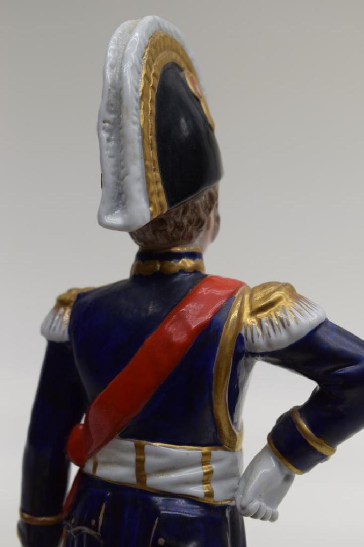 CONTINENTAL PORCELAIN SOLDIER MARSHAL NEY - 7
