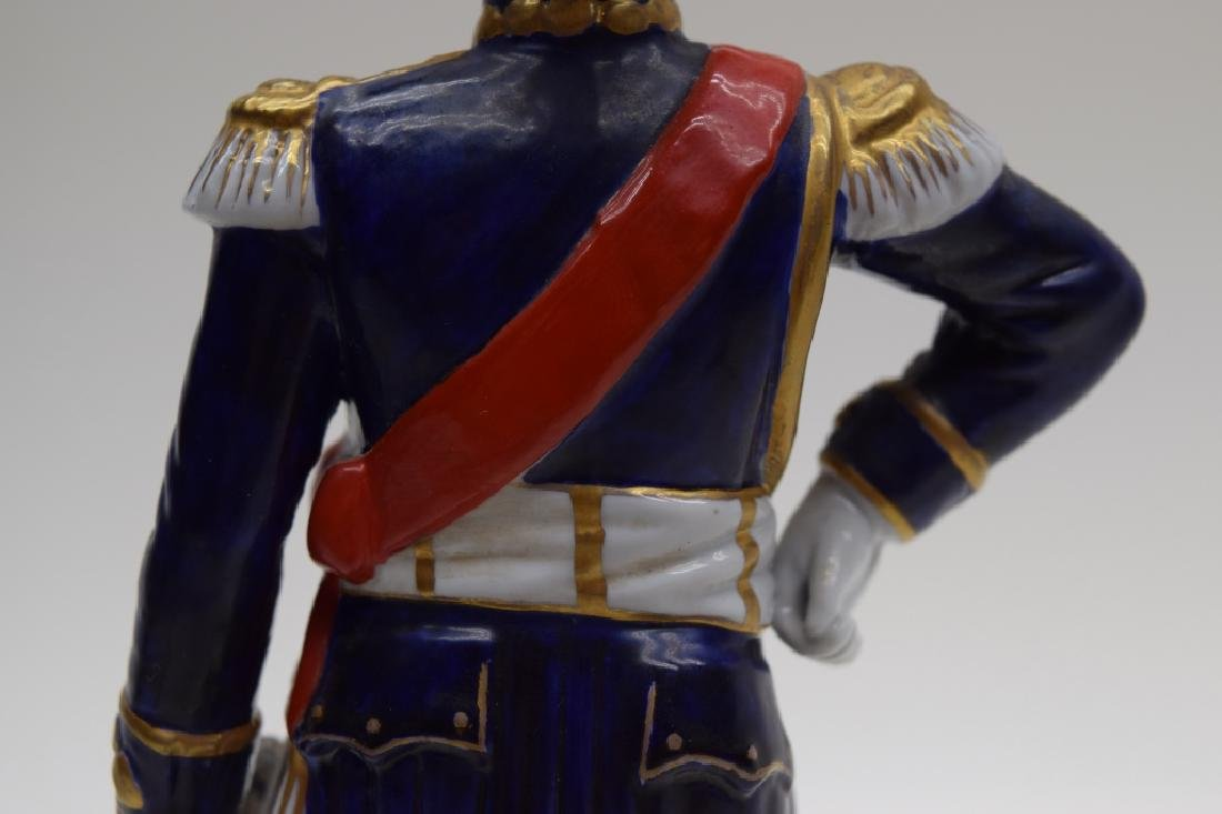 CONTINENTAL PORCELAIN SOLDIER MARSHAL NEY - 8