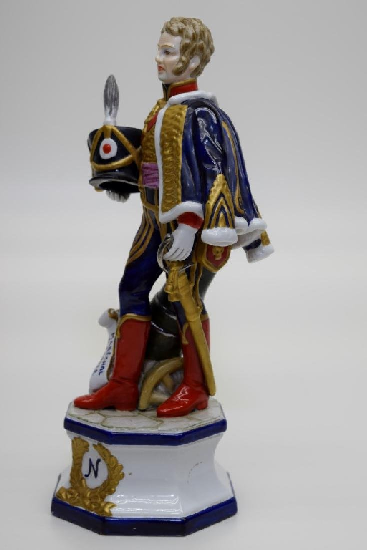 CONTINENTAL PORCELAIN SOLDIER MARSHAL MORTIER - 2