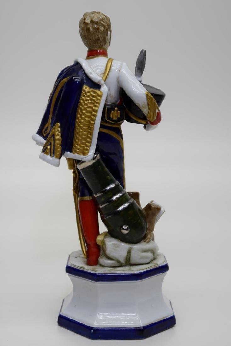 CONTINENTAL PORCELAIN SOLDIER MARSHAL MORTIER - 5