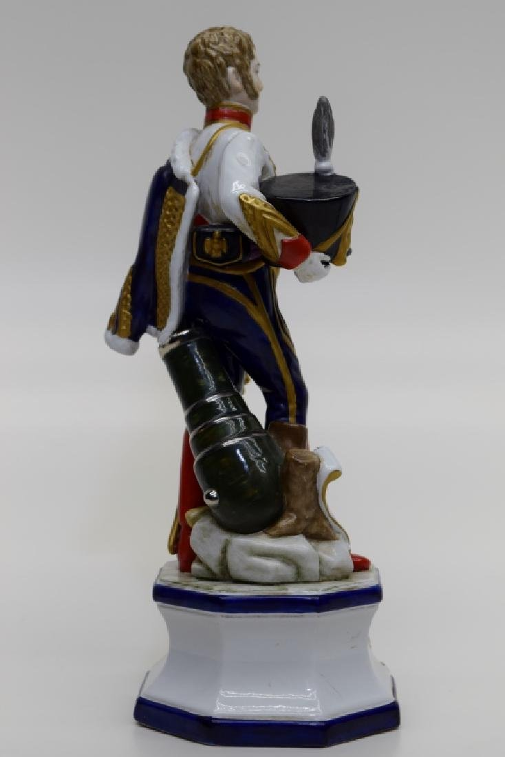 CONTINENTAL PORCELAIN SOLDIER MARSHAL MORTIER - 6