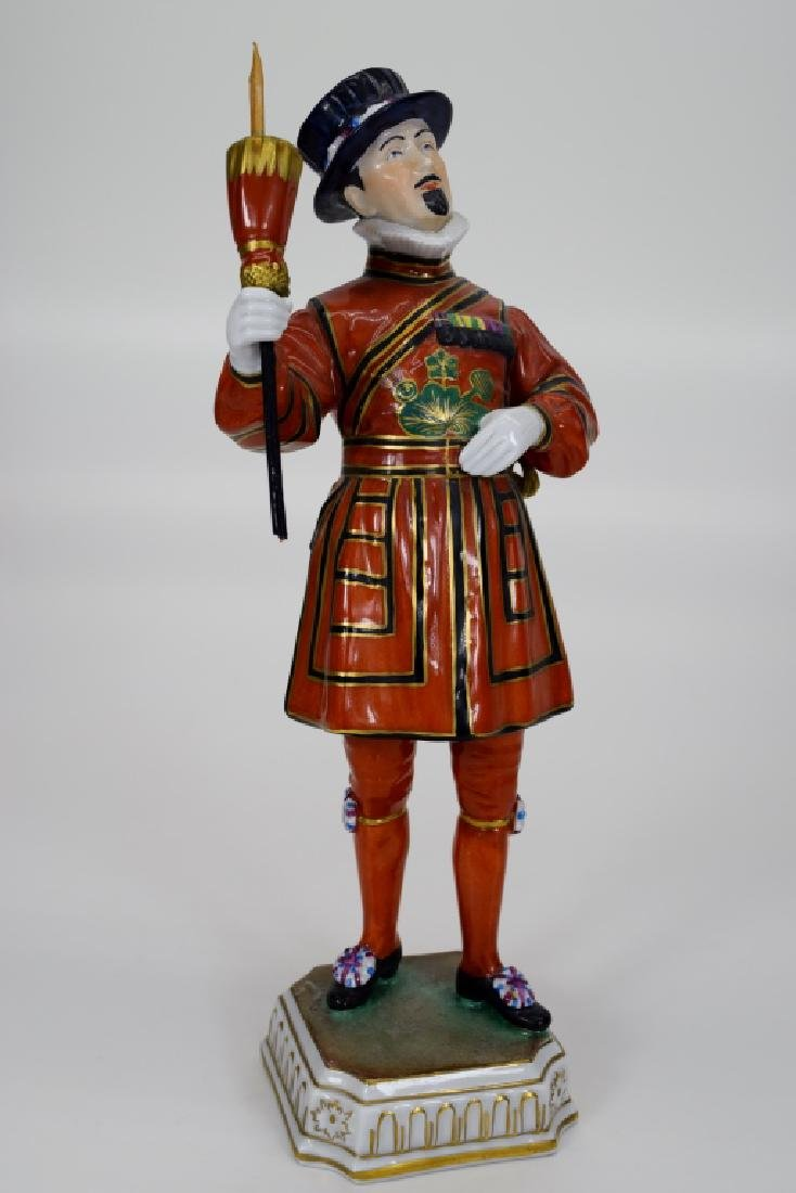 DRESDEN POTSCHAPPEL PORCELAIN YEOMAN OF THE GUARD - 7