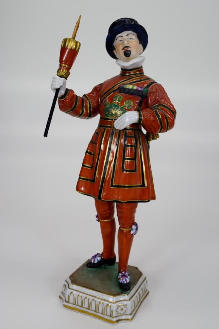 DRESDEN POTSCHAPPEL PORCELAIN YEOMAN OF THE GUARD - 8