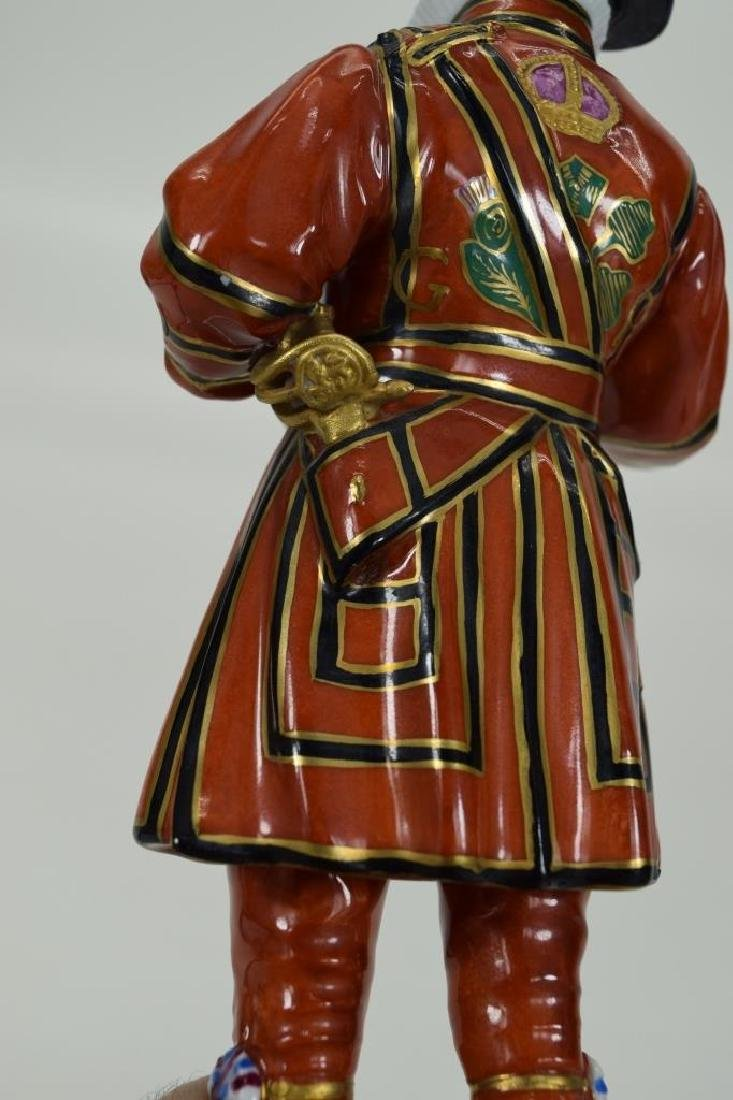 DRESDEN POTSCHAPPEL PORCELAIN YEOMAN OF THE GUARD - 9