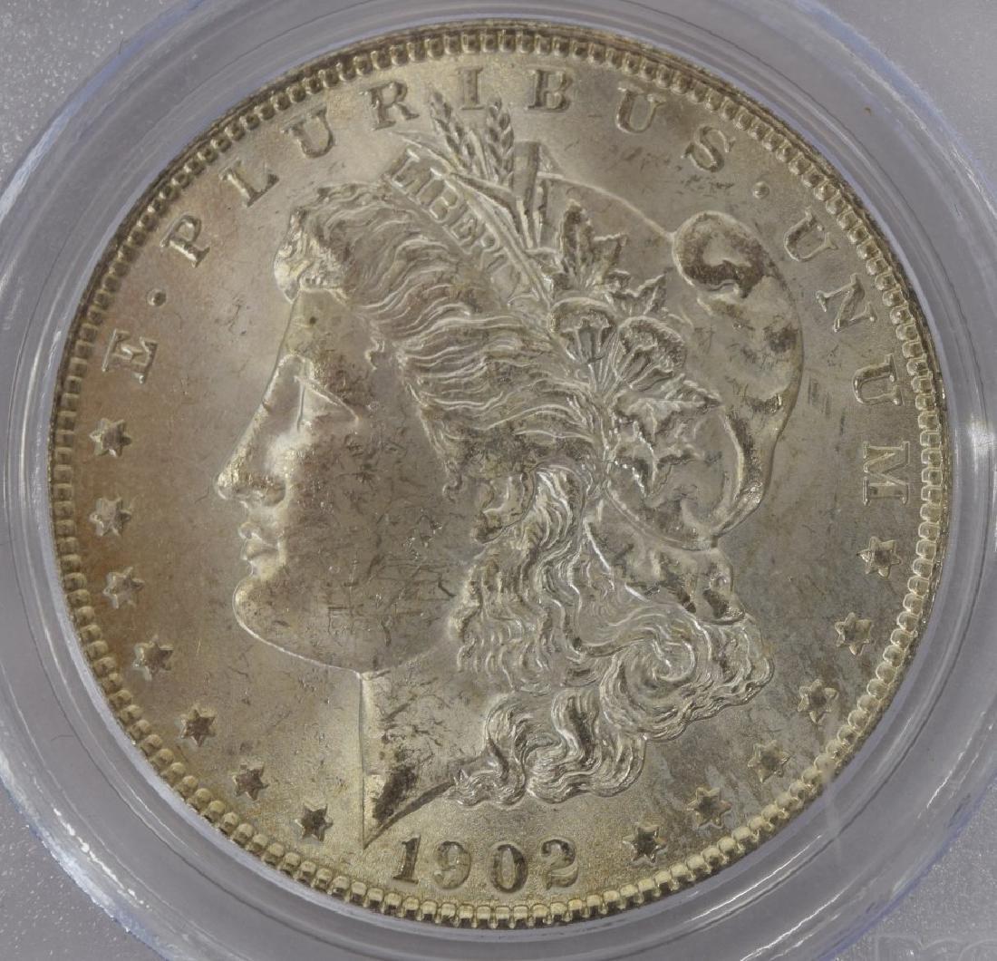 1902-O US $1 SILVER MORGAN DOLLAR COIN MS63 - 2