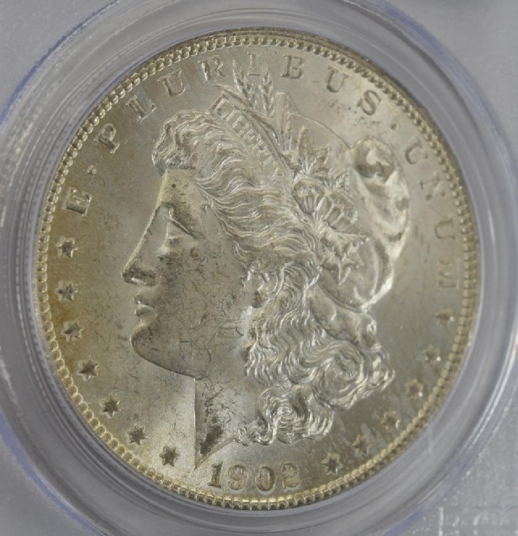 1902-O US $1 SILVER MORGAN DOLLAR COIN MS63 - 3