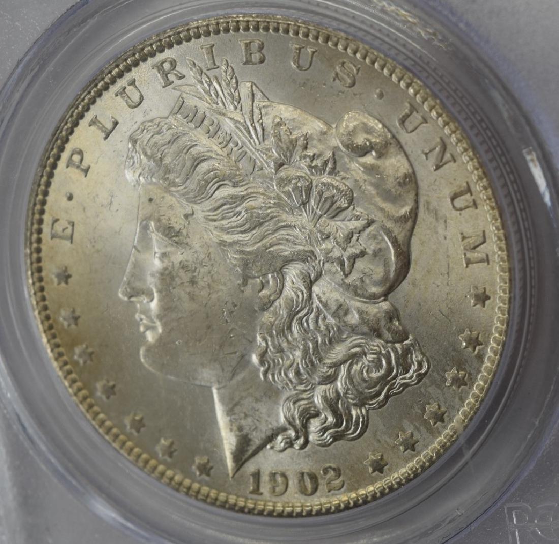 1902-O US $1 SILVER MORGAN DOLLAR COIN MS63 - 4