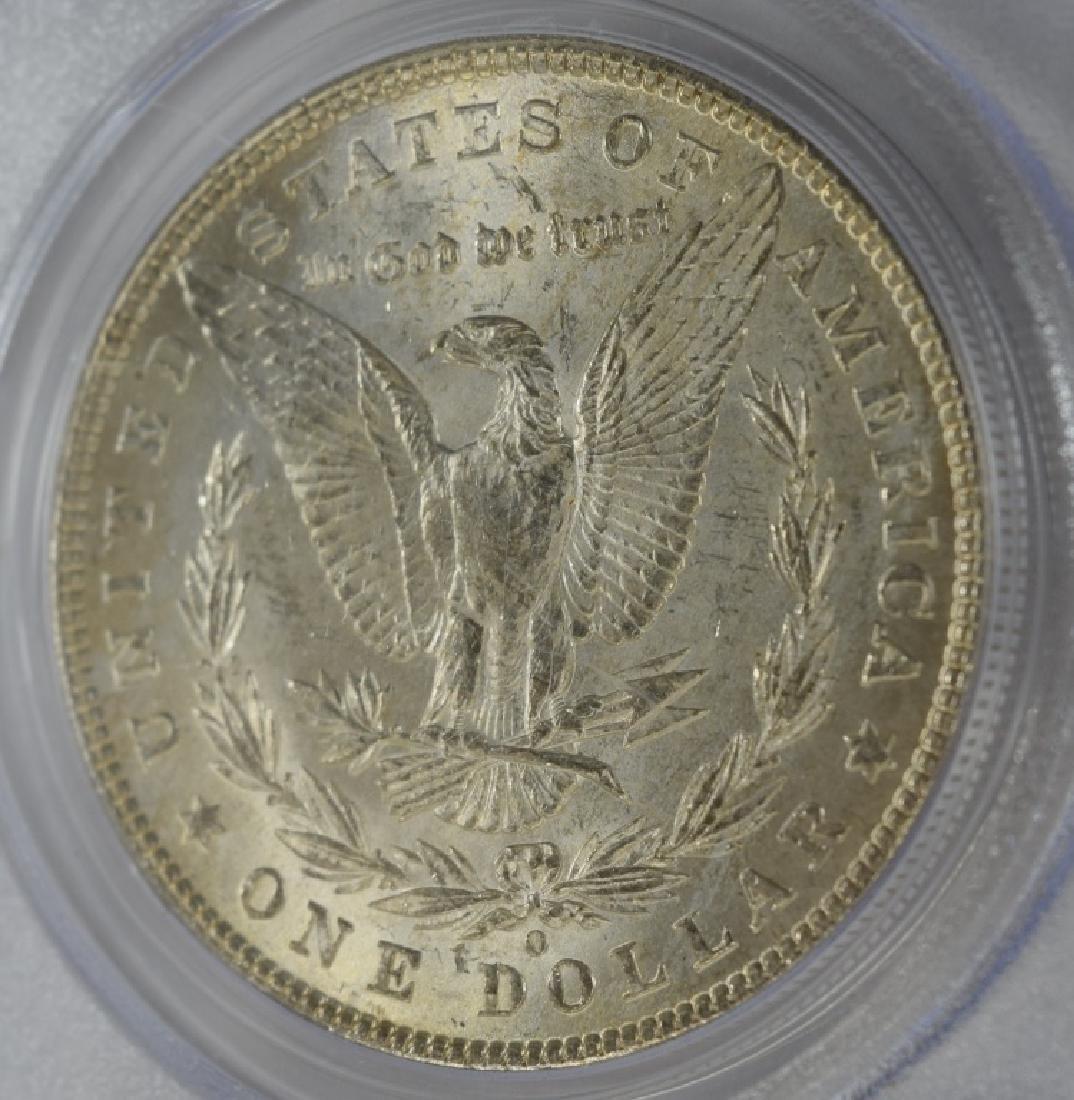 1902-O US $1 SILVER MORGAN DOLLAR COIN MS63 - 6