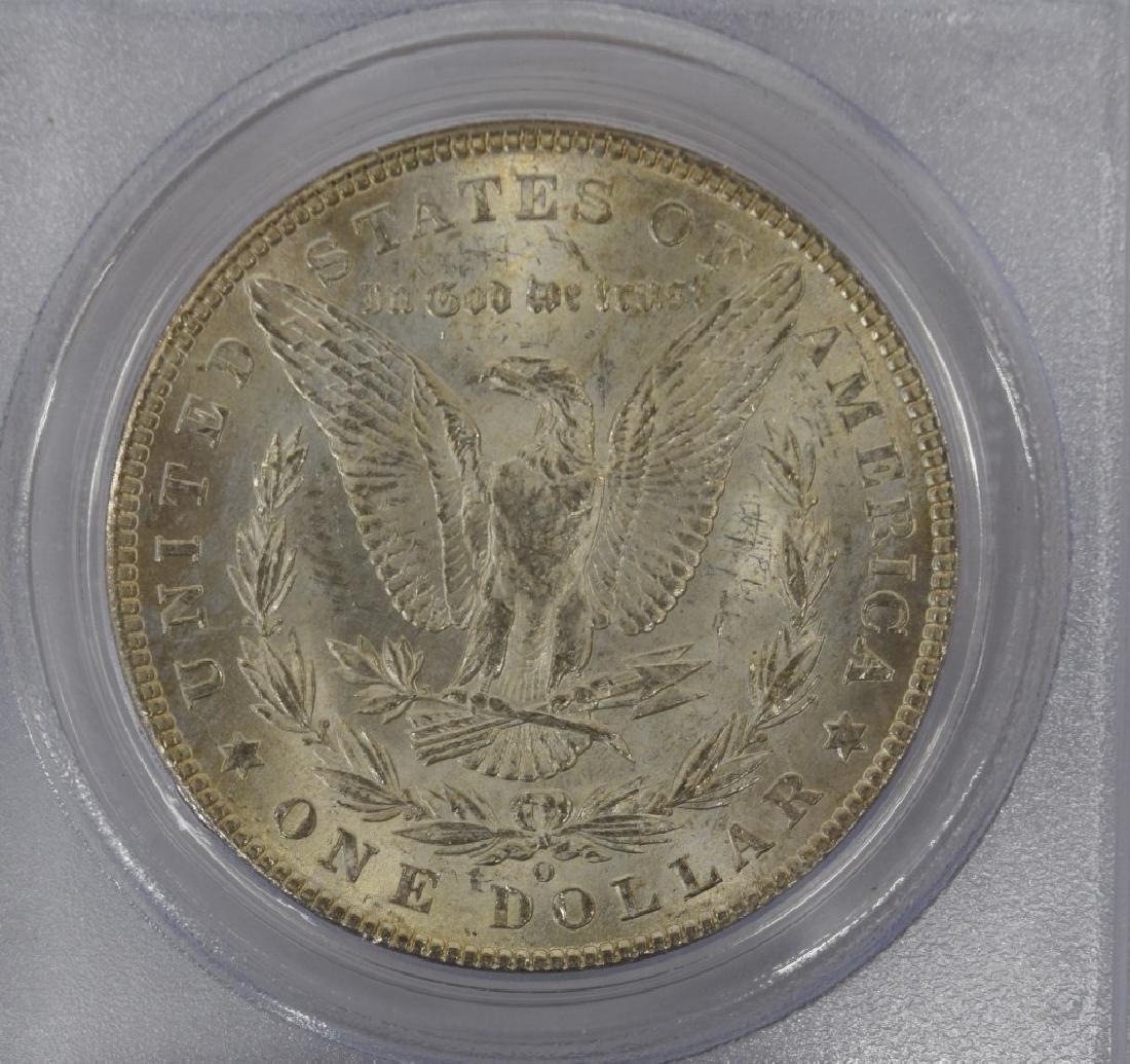 1902-O US $1 SILVER MORGAN DOLLAR COIN MS63 - 7