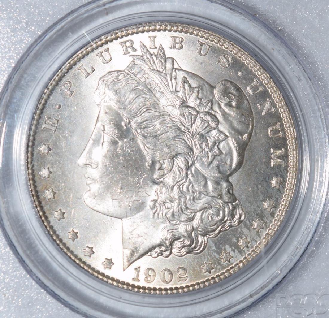 1902-O US $1 SILVER MORGAN DOLLAR COIN MS63 - 9