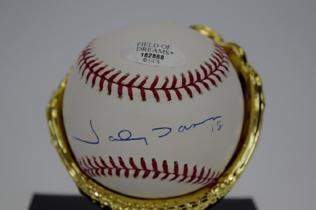 FIELD OF DREAMS JOHNNY DAMON SIGNED BASEBALL COA - 9