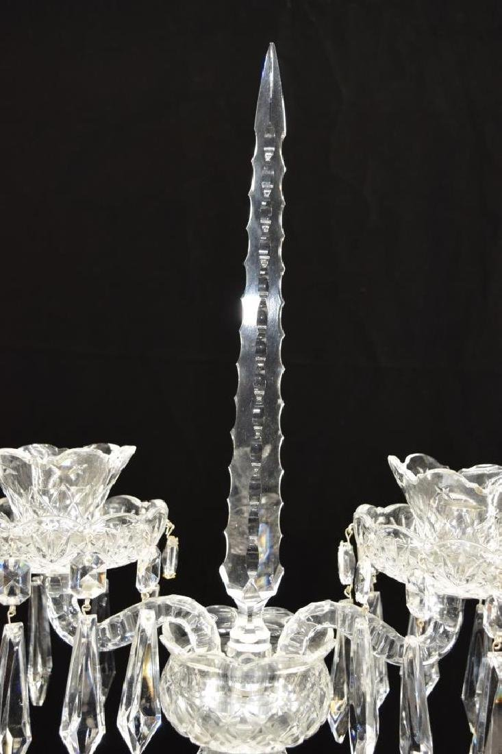 WATERFORD GIFTWARE CRYSTAL CANDELABRA - 3