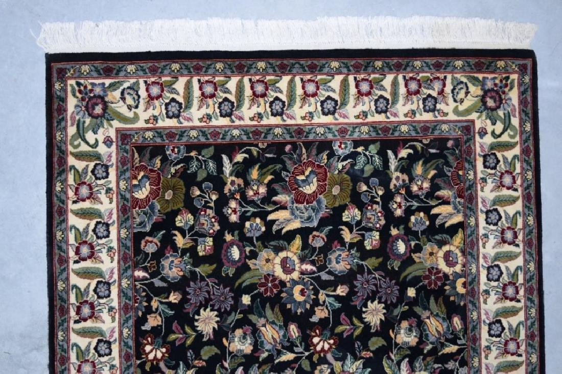 HAND WOVEN ORIENTAL FLORAL RUG 4X6 - 3